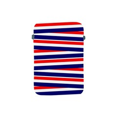 Red White Blue Patriotic Ribbons Apple iPad Mini Protective Soft Cases