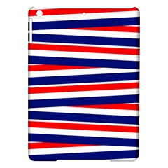 Red White Blue Patriotic Ribbons Ipad Air Hardshell Cases