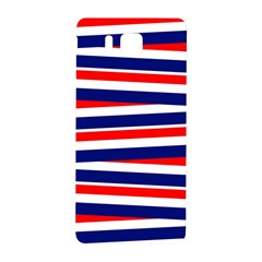 Red White Blue Patriotic Ribbons Samsung Galaxy Alpha Hardshell Back Case