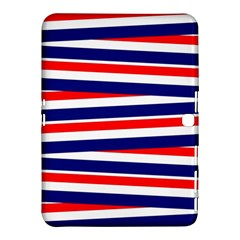 Red White Blue Patriotic Ribbons Samsung Galaxy Tab 4 (10.1 ) Hardshell Case