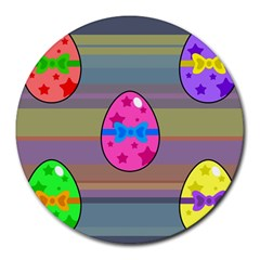 Holidays Occasions Easter Eggs Round Mousepads