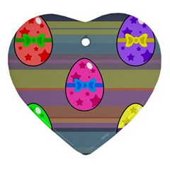Holidays Occasions Easter Eggs Ornament (Heart)