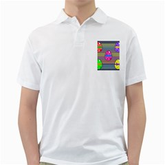 Holidays Occasions Easter Eggs Golf Shirts