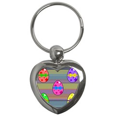 Holidays Occasions Easter Eggs Key Chains (Heart)
