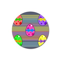 Holidays Occasions Easter Eggs Magnet 3  (Round)