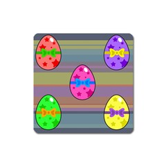 Holidays Occasions Easter Eggs Square Magnet
