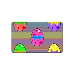 Holidays Occasions Easter Eggs Magnet (Name Card)