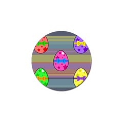 Holidays Occasions Easter Eggs Golf Ball Marker (4 pack)