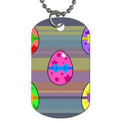 Holidays Occasions Easter Eggs Dog Tag (Two Sides)