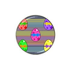 Holidays Occasions Easter Eggs Hat Clip Ball Marker (4 pack)