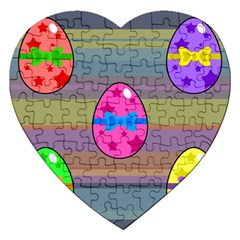 Holidays Occasions Easter Eggs Jigsaw Puzzle (Heart)