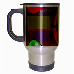 Holidays Occasions Easter Eggs Travel Mug (silver Gray)