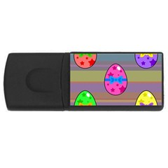 Holidays Occasions Easter Eggs USB Flash Drive Rectangular (4 GB)