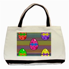 Holidays Occasions Easter Eggs Basic Tote Bag