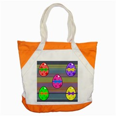 Holidays Occasions Easter Eggs Accent Tote Bag