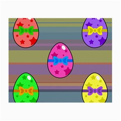 Holidays Occasions Easter Eggs Small Glasses Cloth (2 Side)
