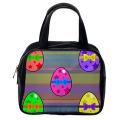 Holidays Occasions Easter Eggs Classic Handbags (One Side)