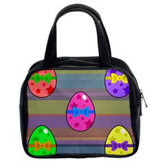Holidays Occasions Easter Eggs Classic Handbags (2 Sides)