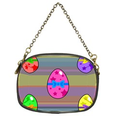 Holidays Occasions Easter Eggs Chain Purses (two Sides)