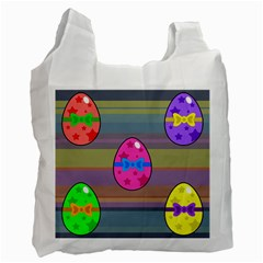 Holidays Occasions Easter Eggs Recycle Bag (Two Side)
