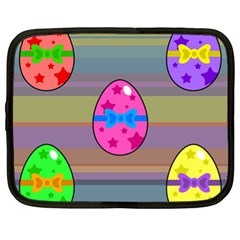 Holidays Occasions Easter Eggs Netbook Case (XL)