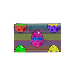 Holidays Occasions Easter Eggs Cosmetic Bag (small)