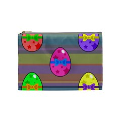Holidays Occasions Easter Eggs Cosmetic Bag (Medium)