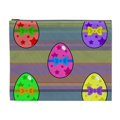Holidays Occasions Easter Eggs Cosmetic Bag (XL)