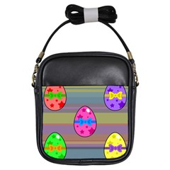 Holidays Occasions Easter Eggs Girls Sling Bags