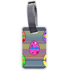 Holidays Occasions Easter Eggs Luggage Tags (One Side)