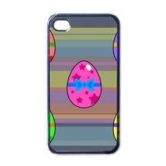 Holidays Occasions Easter Eggs Apple iPhone 4 Case (Black)