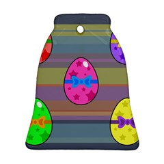 Holidays Occasions Easter Eggs Bell Ornament (Two Sides)