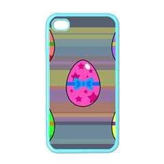 Holidays Occasions Easter Eggs Apple iPhone 4 Case (Color)