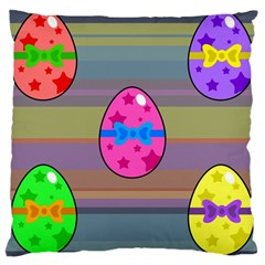 Holidays Occasions Easter Eggs Large Cushion Case (One Side)