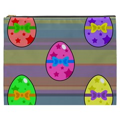 Holidays Occasions Easter Eggs Cosmetic Bag (XXXL)