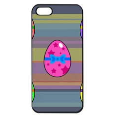 Holidays Occasions Easter Eggs Apple iPhone 5 Seamless Case (Black)