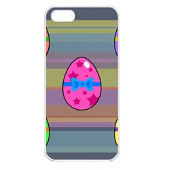 Holidays Occasions Easter Eggs Apple Iphone 5 Seamless Case (white)