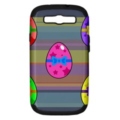 Holidays Occasions Easter Eggs Samsung Galaxy S Iii Hardshell Case (pc+silicone)