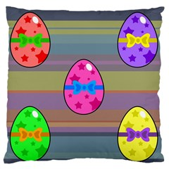 Holidays Occasions Easter Eggs Standard Flano Cushion Case (one Side)