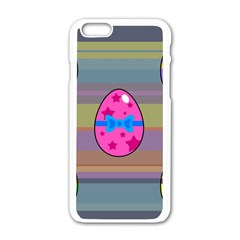 Holidays Occasions Easter Eggs Apple iPhone 6/6S White Enamel Case