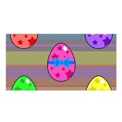 Holidays Occasions Easter Eggs Satin Shawl