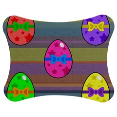 Holidays Occasions Easter Eggs Jigsaw Puzzle Photo Stand (Bow)