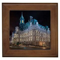 Montreal Quebec Canada Building Framed Tiles