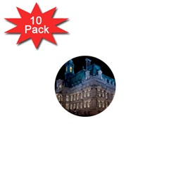 Montreal Quebec Canada Building 1  Mini Buttons (10 pack)