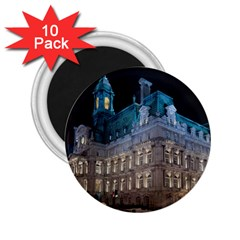 Montreal Quebec Canada Building 2.25  Magnets (10 pack)