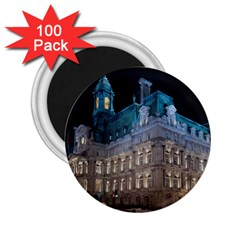 Montreal Quebec Canada Building 2.25  Magnets (100 pack)