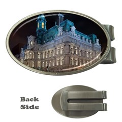 Montreal Quebec Canada Building Money Clips (Oval)