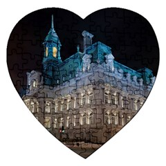 Montreal Quebec Canada Building Jigsaw Puzzle (Heart)