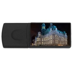Montreal Quebec Canada Building USB Flash Drive Rectangular (4 GB)