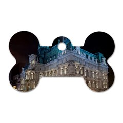 Montreal Quebec Canada Building Dog Tag Bone (Two Sides)